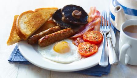 Anti-kater ontbijt voor de uittraining