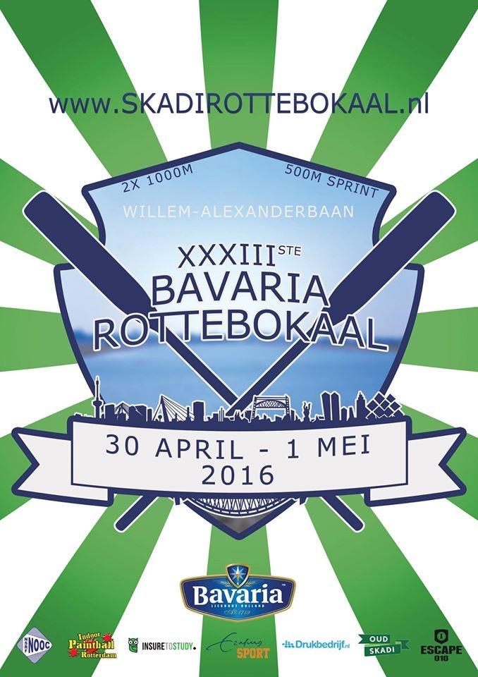 Bavaria Rottebokaal o.d.z. met keiharde wind naar de winst!