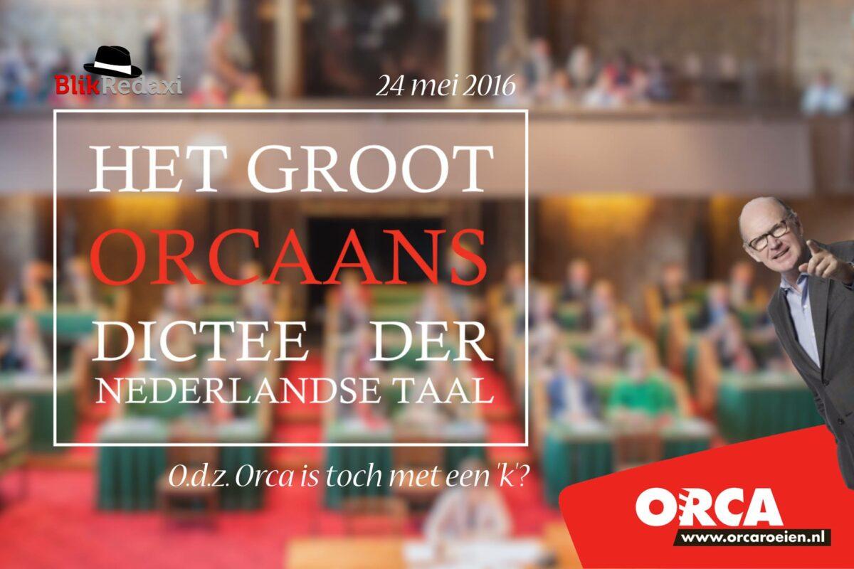 Groot Orcaans Dictee 2016