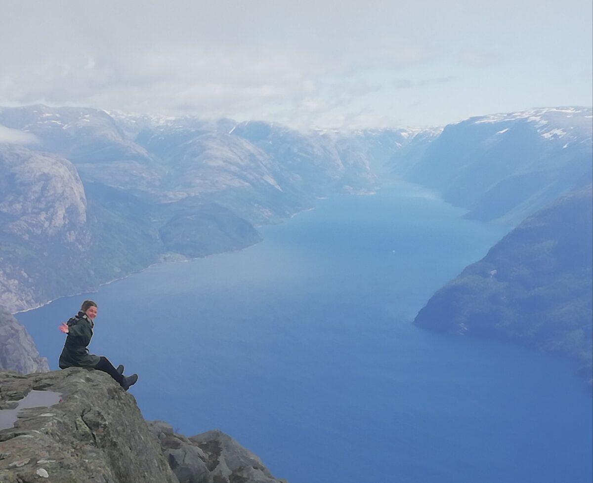 Groetjes uit de bergen in Bergen
